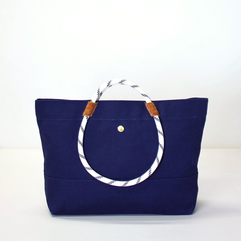 Image of MOLTON TOTE Navy (W)