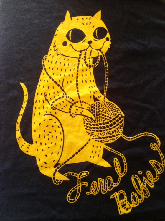 Image of Unraveled Cat Shirt *****SOLD OUT!!