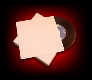 Image of 50 Sous-pochettes papier IMPRIMABLE 45 Tours [sans fenêtre]