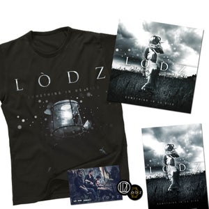 "Image of LODZ // PACK Album ""Something in Us Died"" + T-shirt + Goodies - PREVENTE !!"