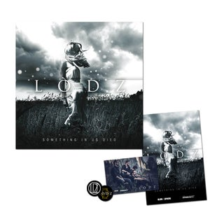"Image of LODZ // PACK Album ""Something in Us Died"" + Goodies - PREVENTE !!"