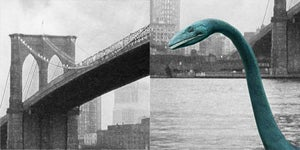 Image of Monster In New York - Nessie Art