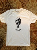 Image of HOLLOW HILLS - Shirt: Skull on white