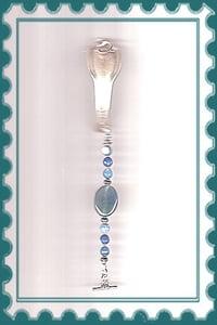 Image of B1265 Vintage Silverware Bracelet