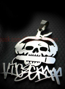 Image of Vice Gripp Skull Logo Charms