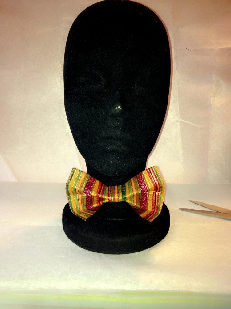 Image of Earth Tone Bow Tie
