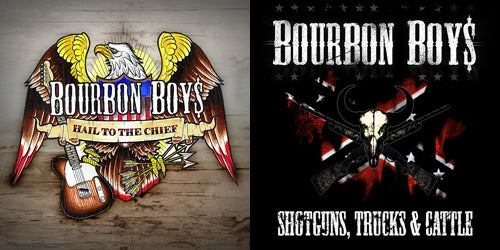 Image of Bourbon Boys - Album Pack (2xCD)