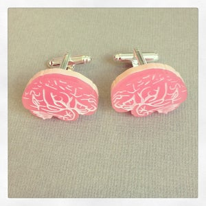 Image of Brain Cufflinks