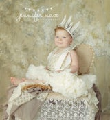 Image of Vanilla Cream Pettiskirt - Newborn, 6 - 12 Month, 1-2 Yr, 2-4 Yr - Full of Ruffles - $15-$25 OFF!