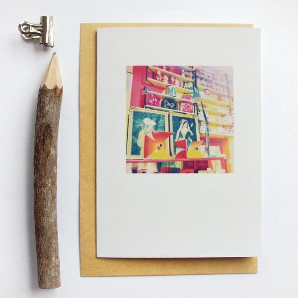 Image of Carte et enveloppe/ Brocante