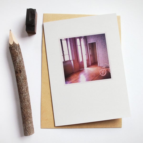 Image of Carte et enveloppe/ Hôtel particulier