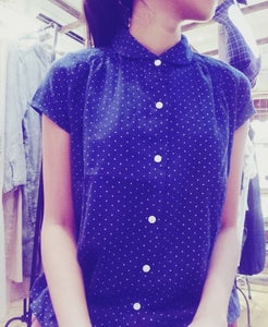 Image of 100%Cotton short-sleeves shirt 全棉短袖裇 / code :143