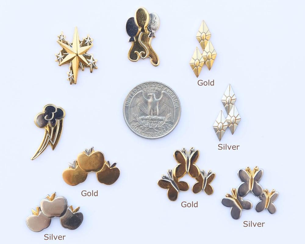 Mane Six Lapel Pin Set