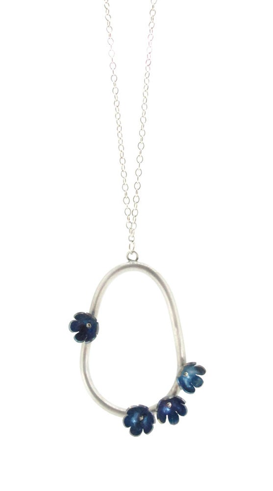 Image of Springtime Forget-me-not pendant