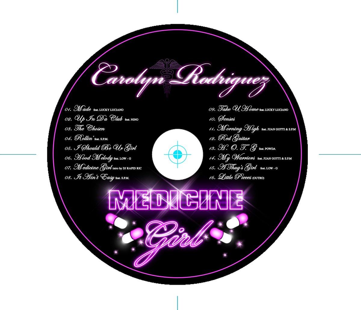 Medicine Girl cd