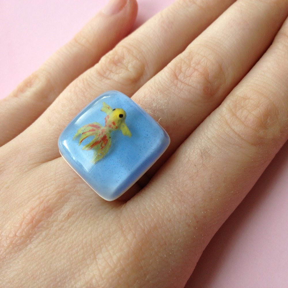 Image of Goldfish Ring