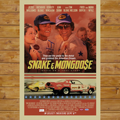 """Image of 27"""" X 40"""" Snake and Mongoo$e Movie poster"""