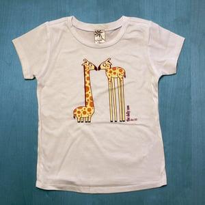 Image of Eye to Eye Giraffes Infant T-shirt