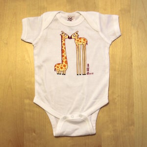 Image of Eye to Eye Giraffes Infant One-piece