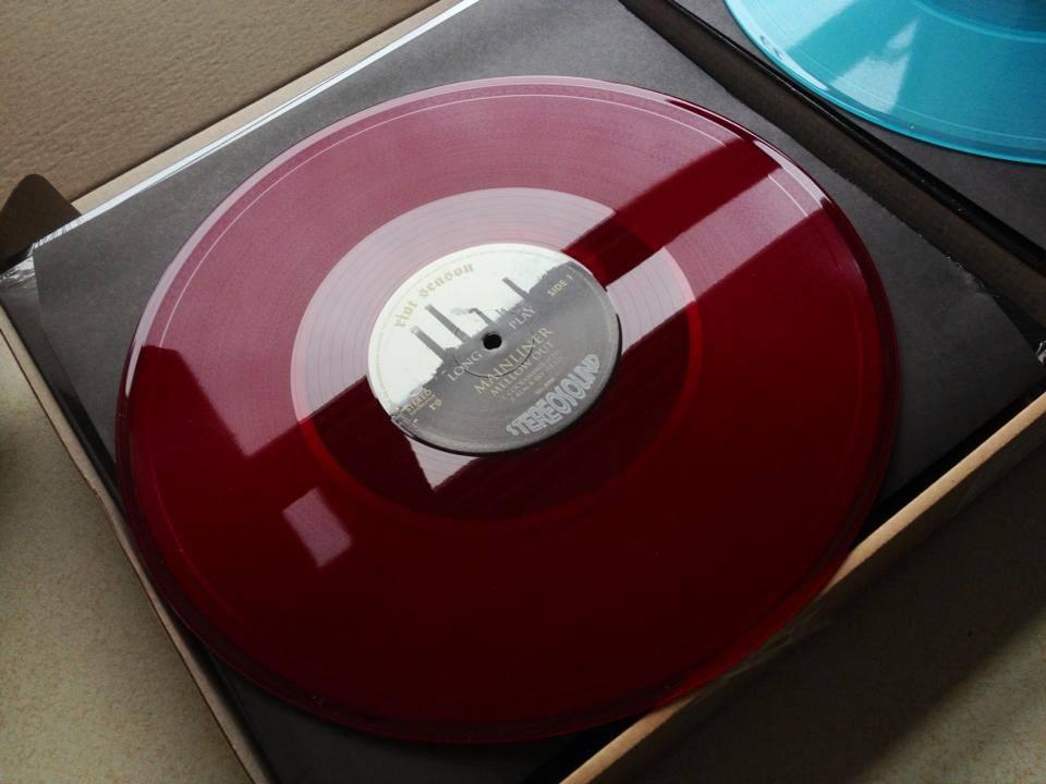 MAINLINER 'Mellow Out' Transparent Claret Vinyl LP