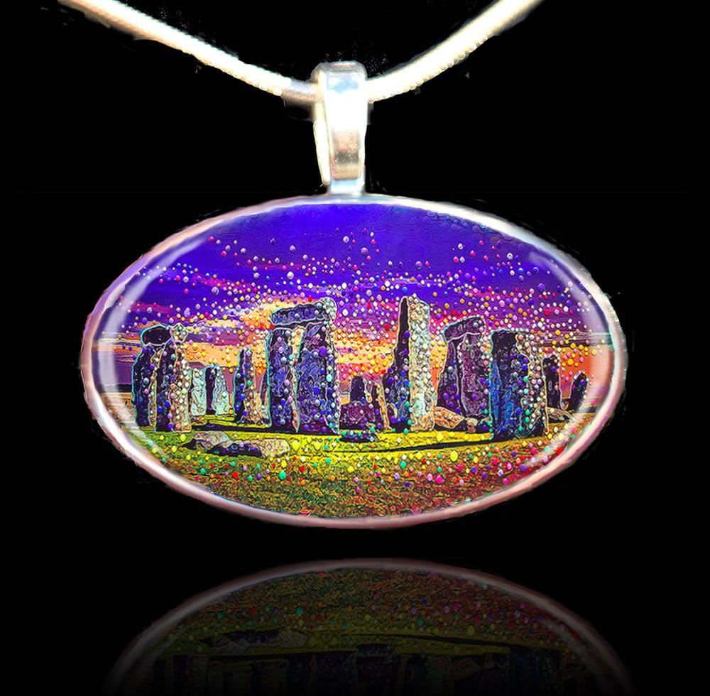 Image of Stonehenge - Sacred healing portal pendant