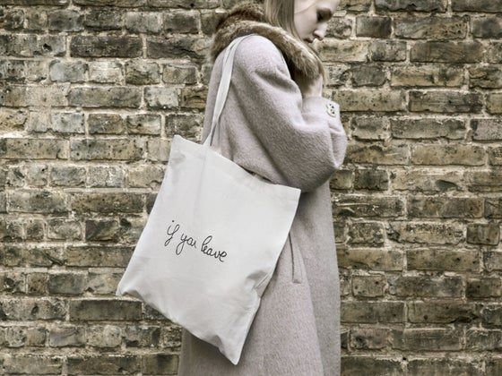 Image of If You Leave Tote Bag