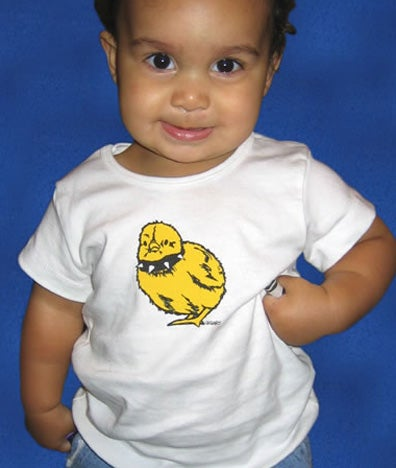 Image of Tough Chick Toddler White