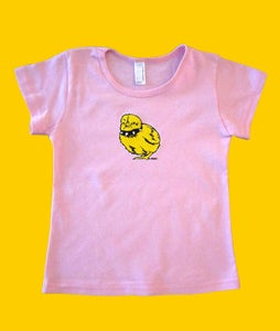 Image of Tough Chick Toddler Pink