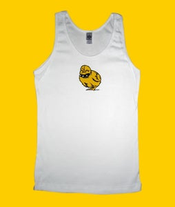 Image of Tough Chick Tank White