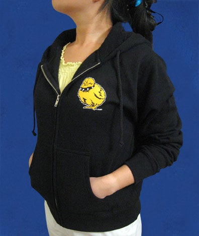 Image of Tough Chick Black Hoodie
