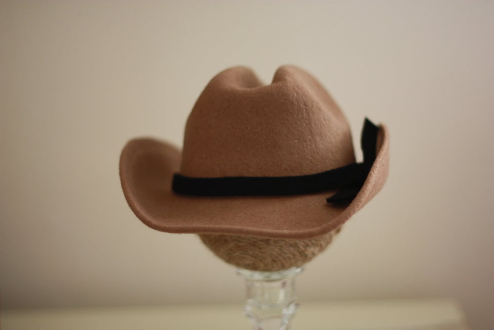 Image of Tan Cowboy Hat