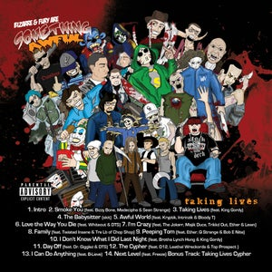 Image of Bizarre from D12 & Fury: Something Awful - Taking Lives Mixtape
