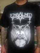 "Image of EMBALMED ""Prelude to Satans War"" shirt"