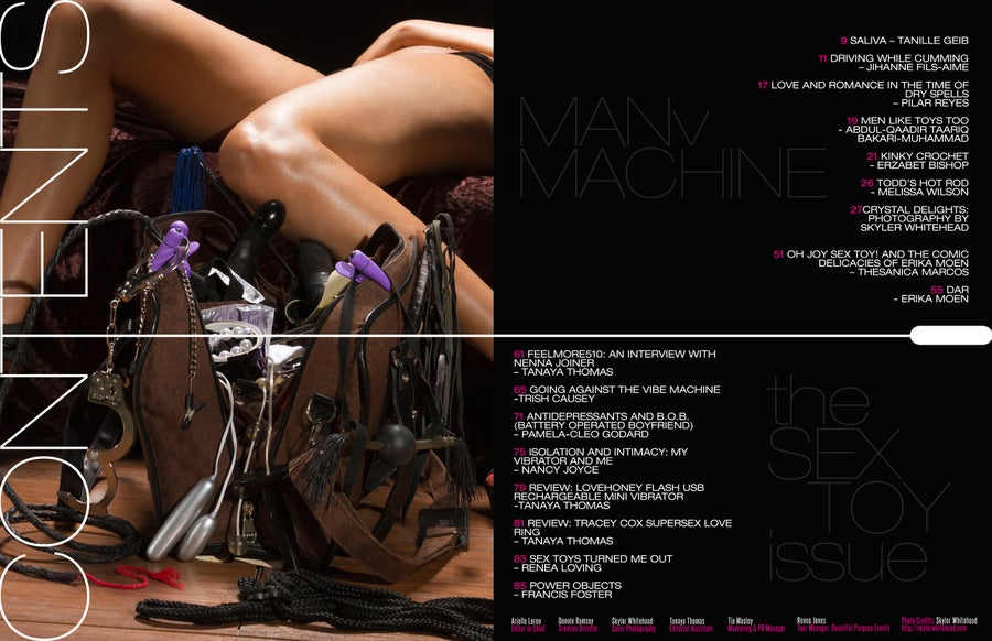 Image of Corset Magazine, Issue 8, Man v. Machine: Sex Toys (Digital)