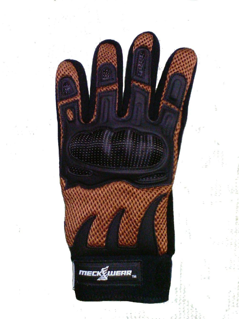 Image of Meckwear Desert Brown Enduro Crossover Gloves