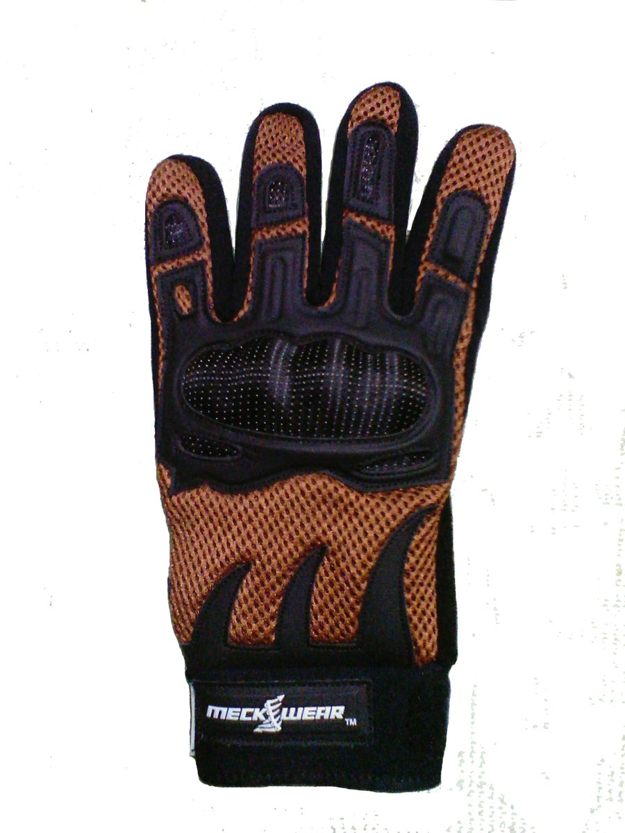 Image of Meckwear Desert Brown Enduro Crossover Gloves