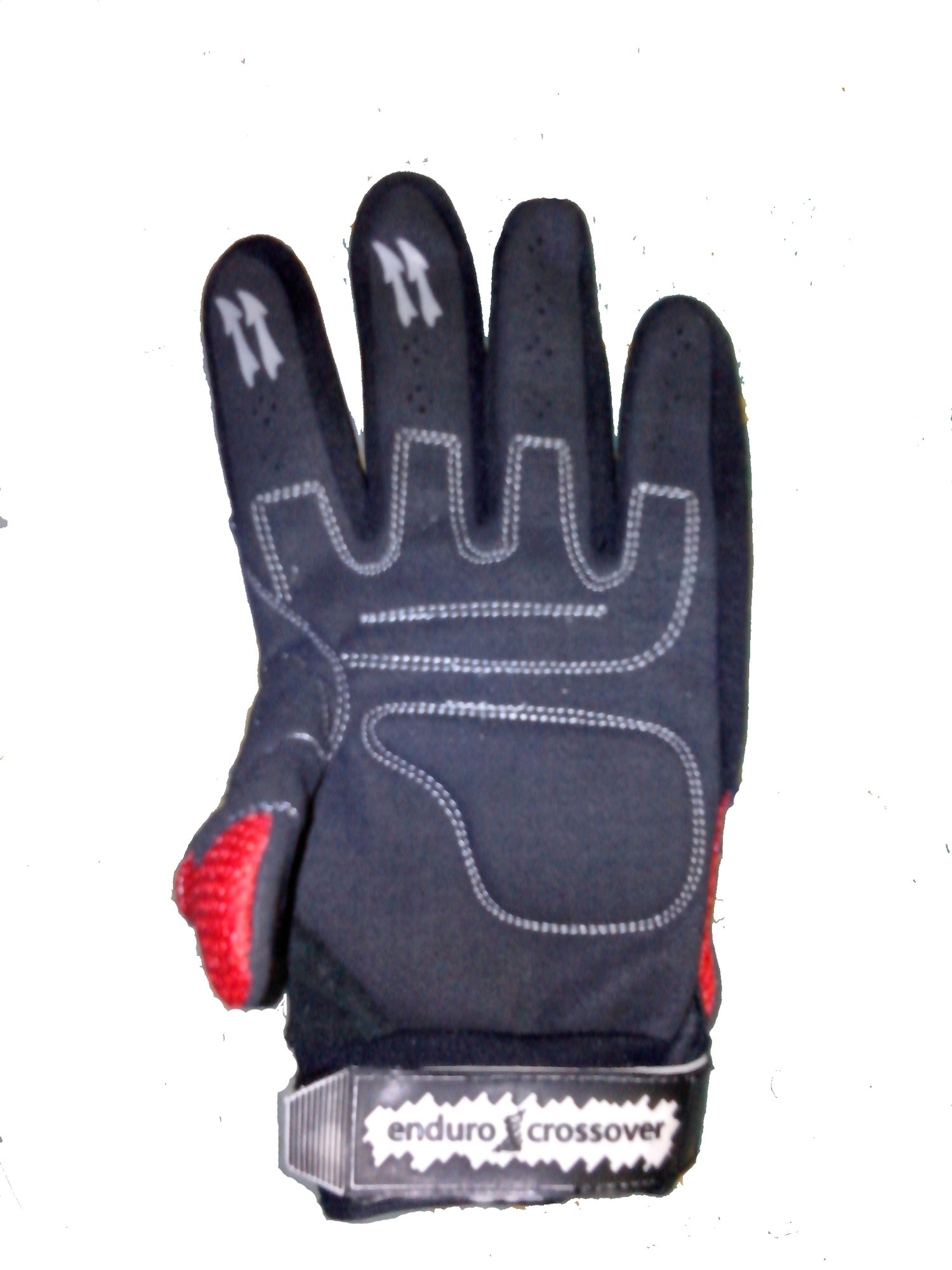 Image of Bright Red Enduro Crossover Gloves