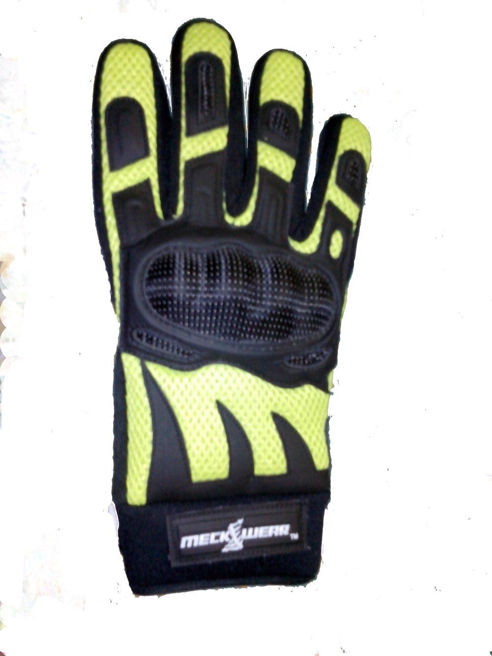 Image of Neon Yellow Enduro Crossover Gloves