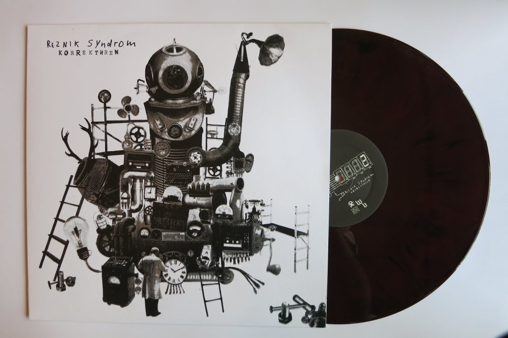 "Image of Korrekturen 12"" Limited Edition Vinyl"
