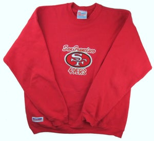 Image of Vintage 49ers Crewneck Large