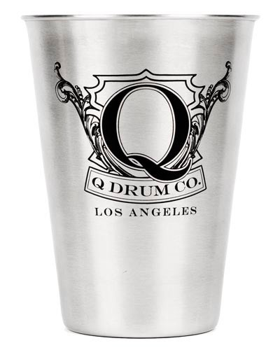 "Image of Q Drum Co. ""Crest"" Stainless Steel Cup"