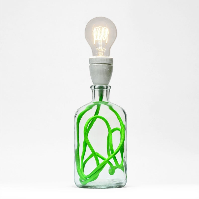 Image of Neon Green Lamp