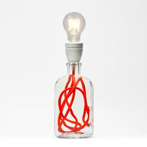 Image of Neon Orange Lamp