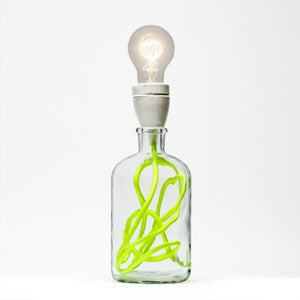 Image of Neon Yellow Lamp