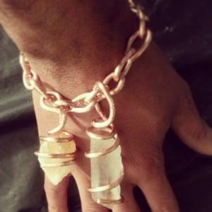 Image of Copper Crystal Bracelets