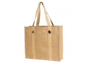 Image of Large Jute/Burlap Bag with Big Grommets