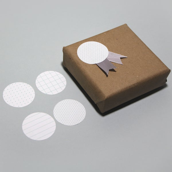 Image of Paper gift stickers