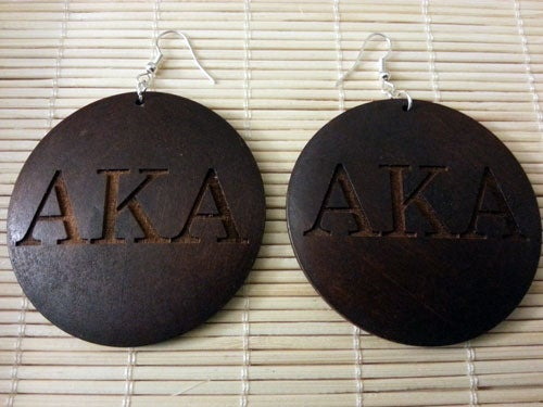 Image of AKA Wooden Earrings