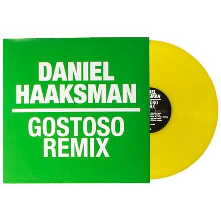 "Image of Daniel Haaksman ""Gostoso Remix EP"" 12"""