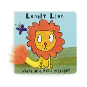 Image of Cute lonely lion board book
